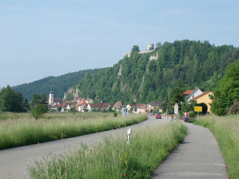 cycling by the River Danube in Austria