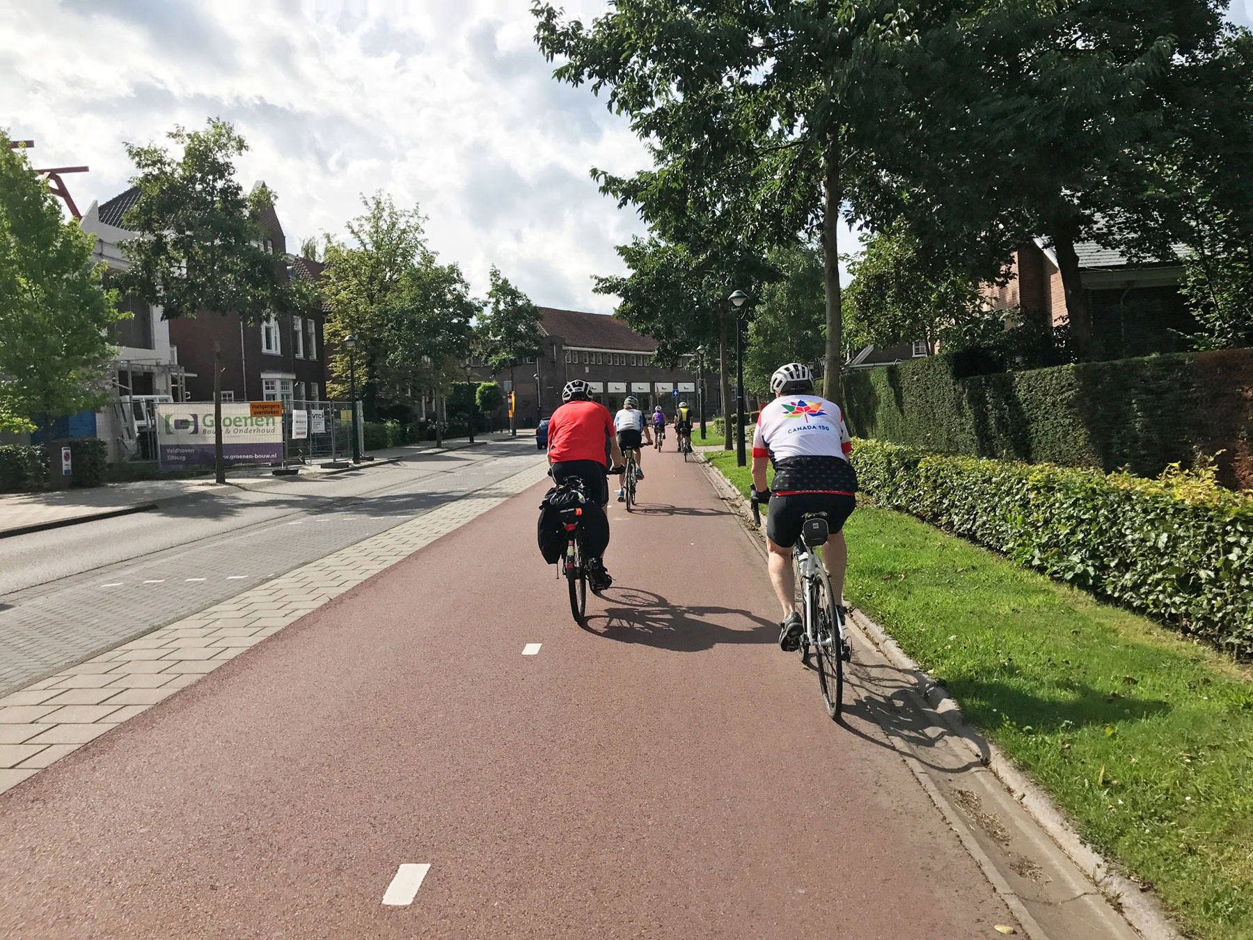 The road to Hamburg