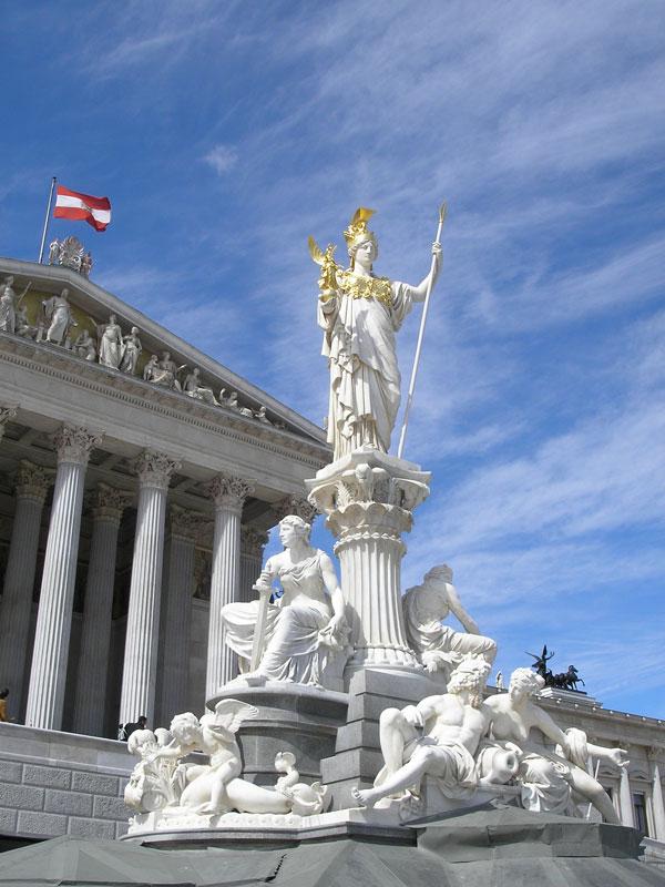 Parlament Athena, Vienna, Austria