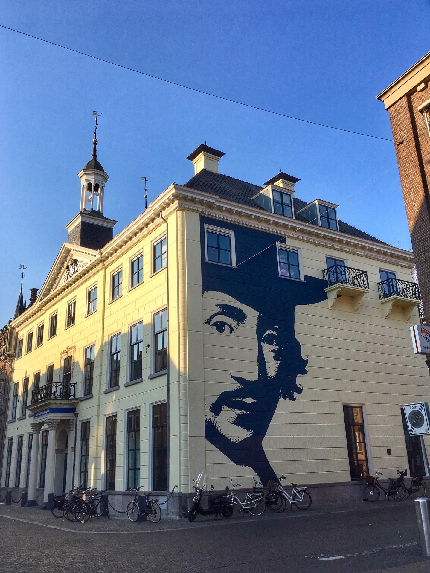 Wall Art on Oudestraat, Kampen