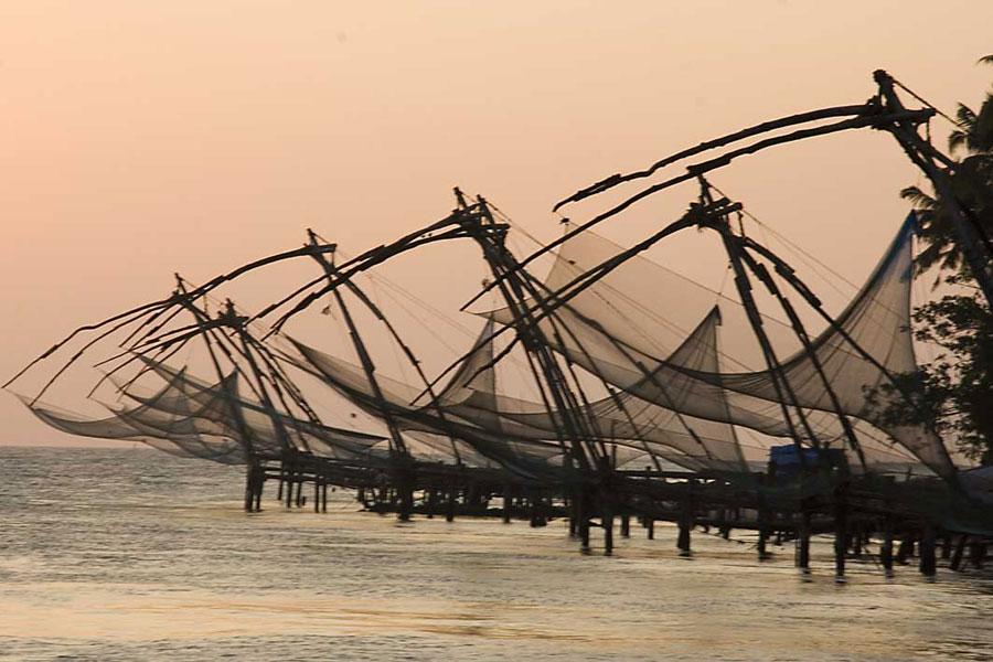 Fishing Nets - Kerala