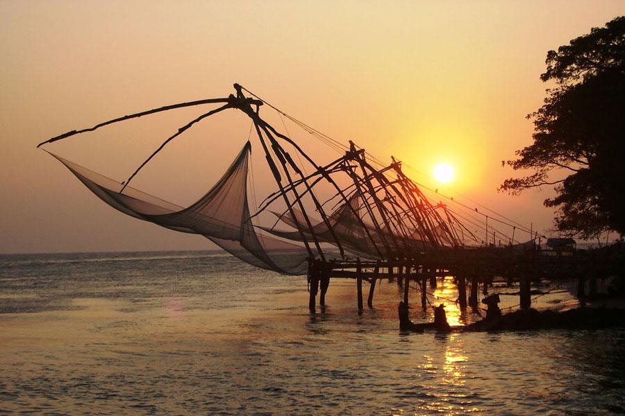 Fishing Nets - Kochi, Kerala