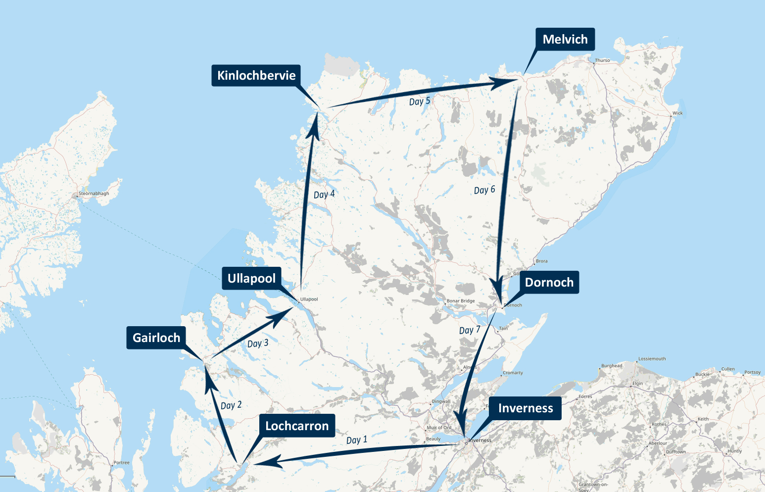 NC500 Pedal Nation Cycle Tour