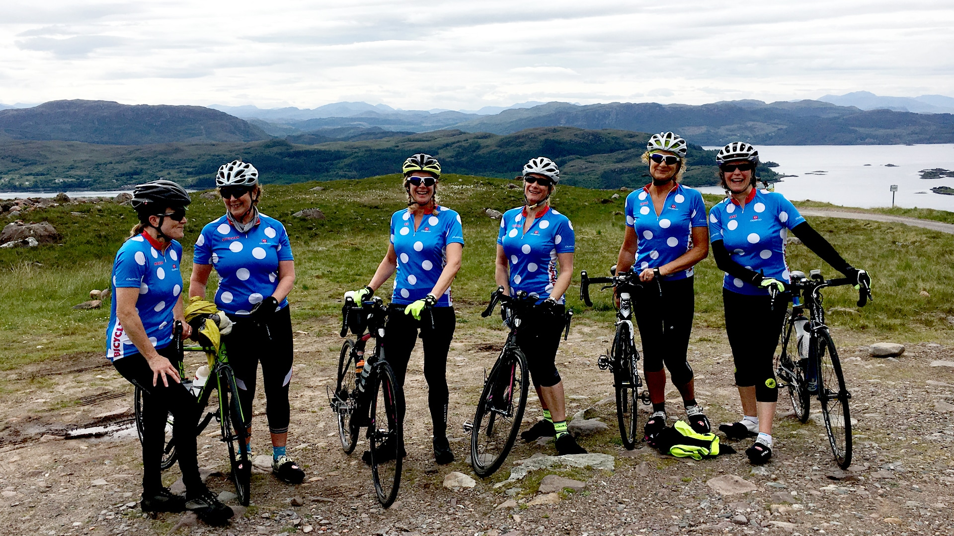 NC500 women only cycle tour