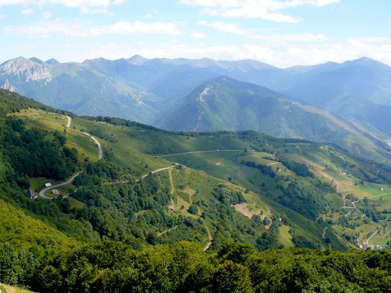 Pyrenees - view from the Col d'Aspin